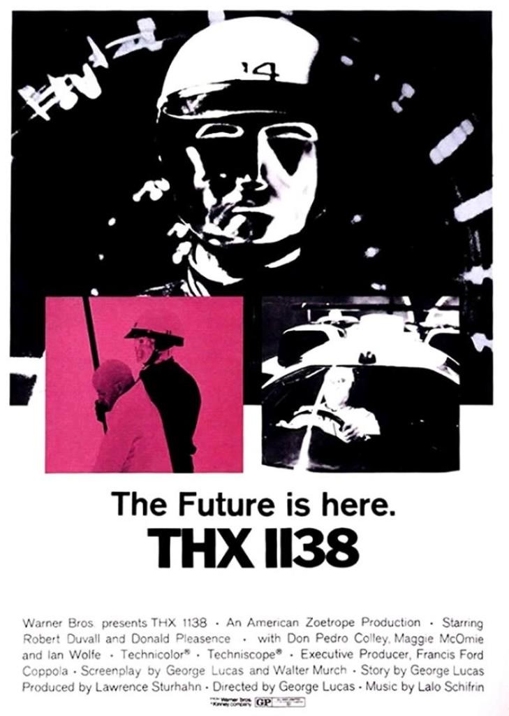 Лучшие фильмы в рецензия THX 1138 THX 1138 1971: постер