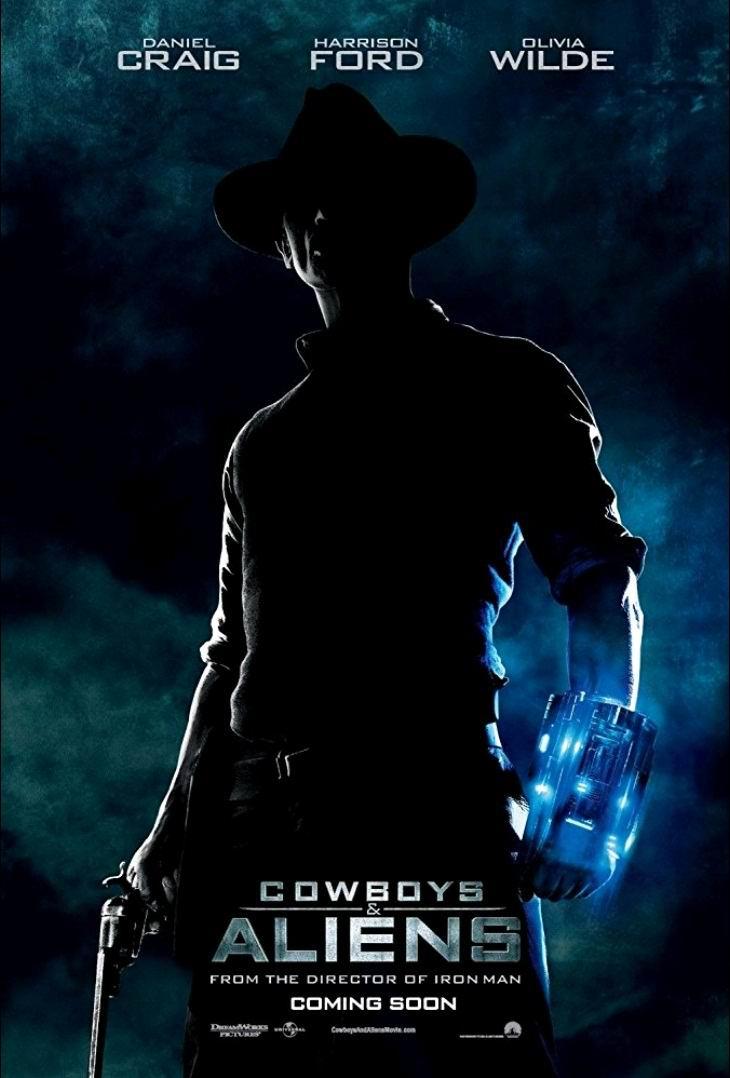 Ковбои против пришельцев / Cowboys & Aliens (2011): постер