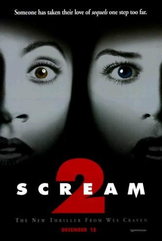 Крик 2 / Scream 2 (1997): постер