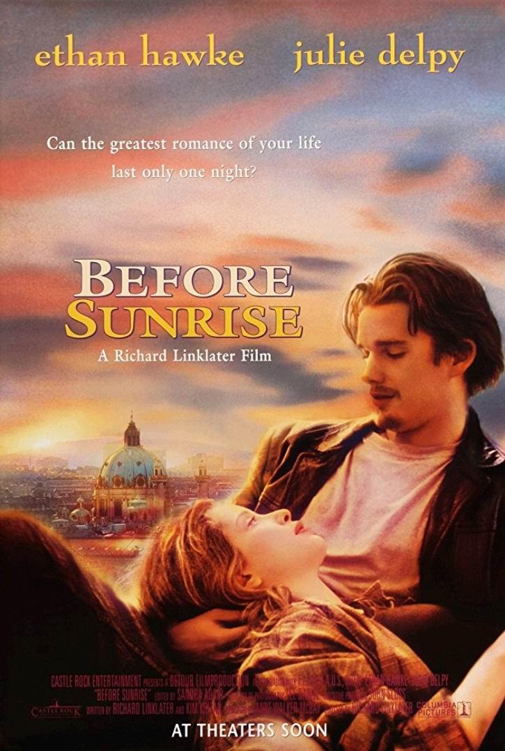 Перед рассветом / Before Sunrise (1995): постер
