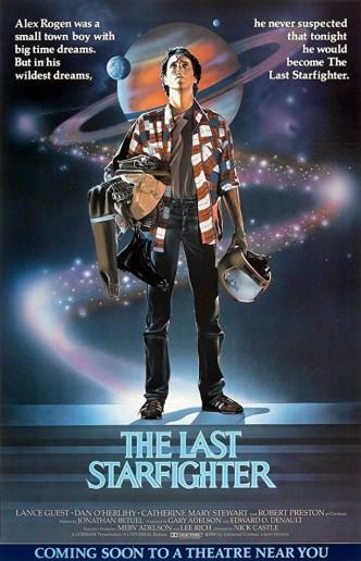 Последний звёздный боец / The Last Starfighter (1984): постер