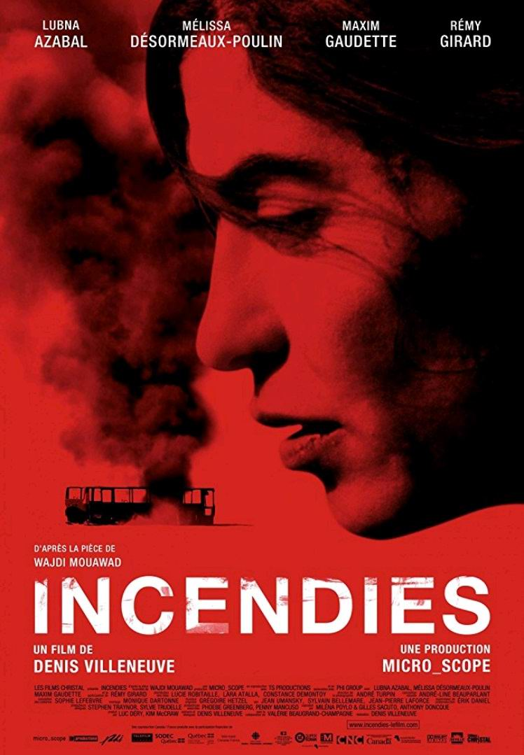 Пожары / Incendies (2010): постер