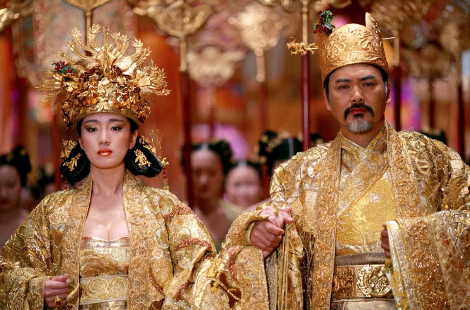 Проклятие золотого цветка / Man cheng jin dai huang jin jia (2012): кадр из фильма