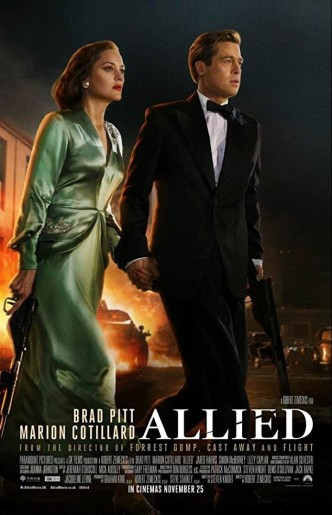 Союзники / Allied (2016): постер