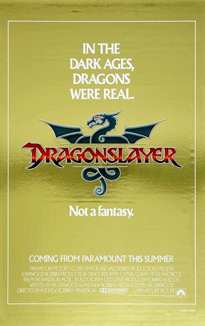 Убийца дракона / Dragonslayer (1981): постер