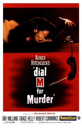 В случае убийства набирайте «М» / Dial M for Murder (1954): постер