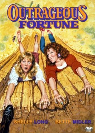 Бешеные деньги / Outrageous Fortune (1987): постер