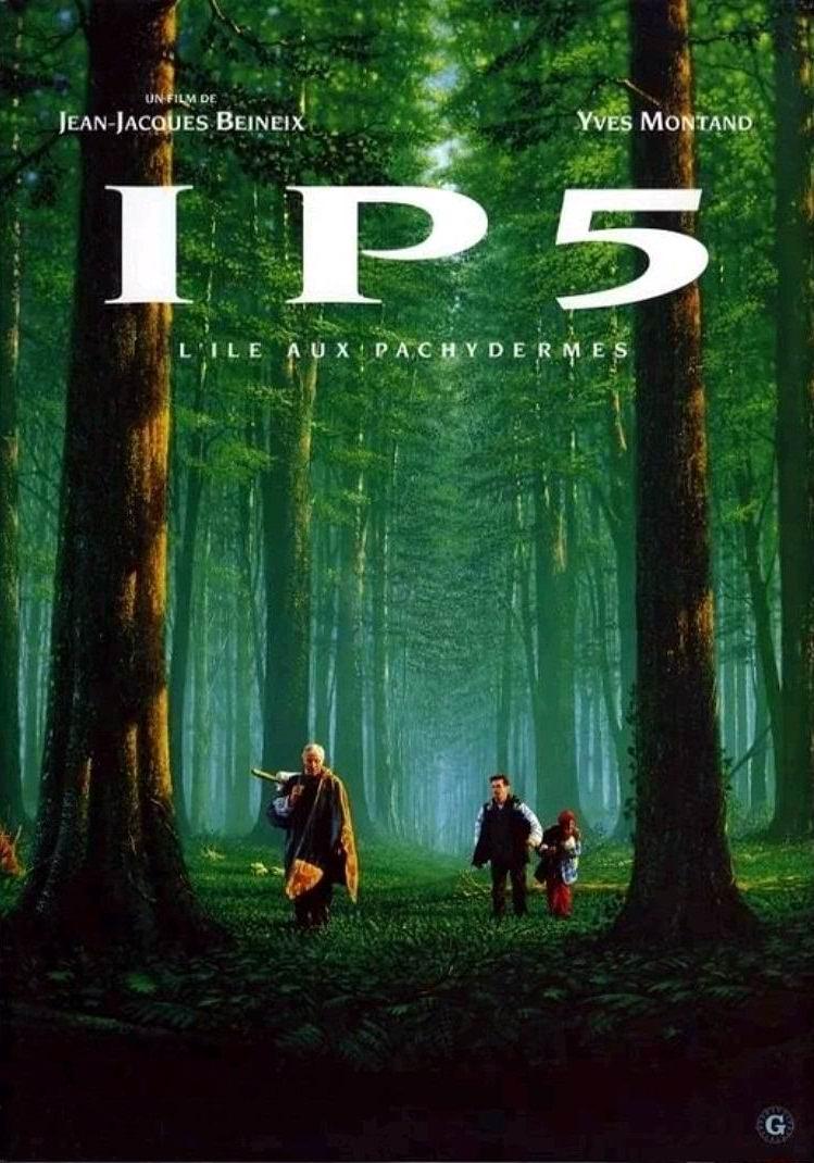 ИП 5: остров толстокожих / IP5: L'île aux pachydermes (1992): постер
