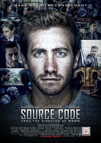 Исходный код / Source Code / Code source (2011): постер