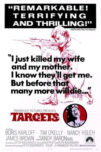 Мишени / Targets (1968): постер