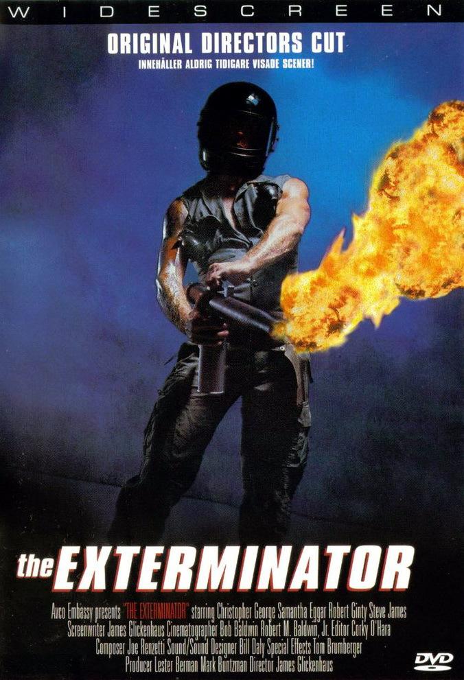 Мститель / The Exterminator (1980): постер