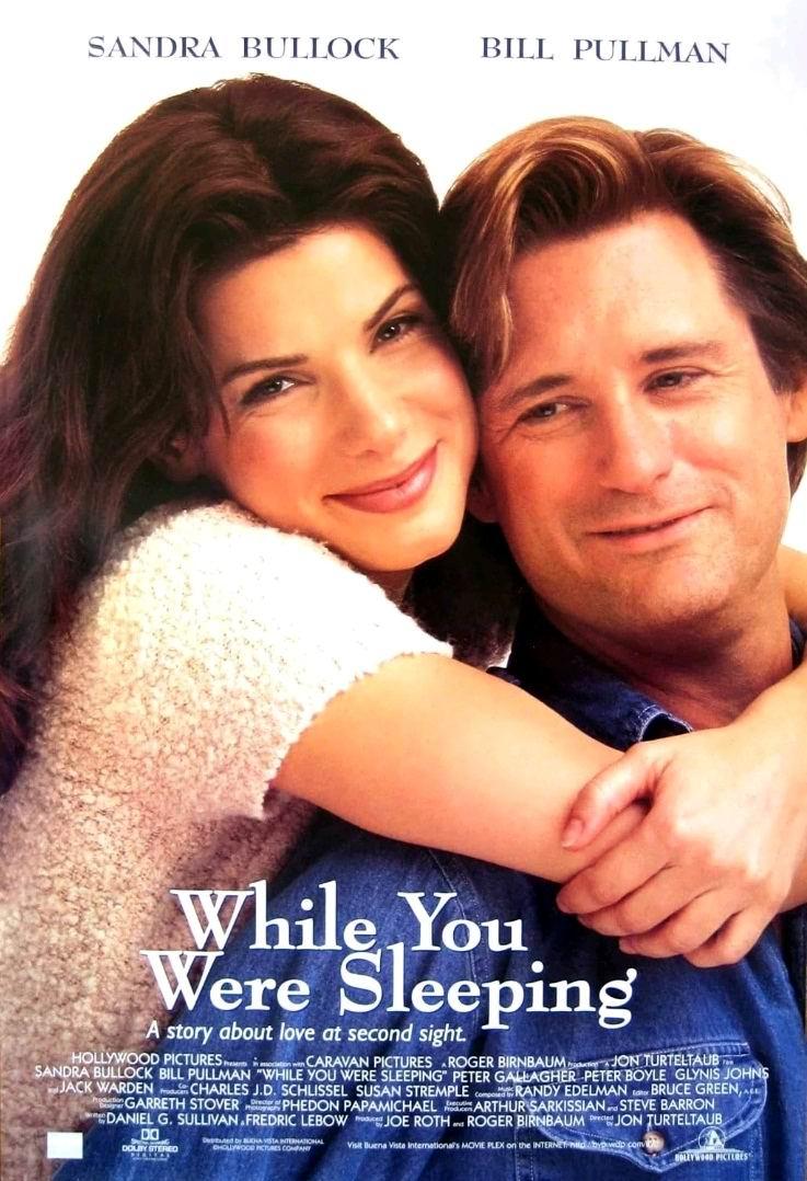 Пока ты спал / While You Were Sleeping (1995): постер