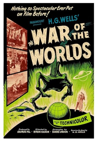 Война миров / The War of the Worlds (1953): постер