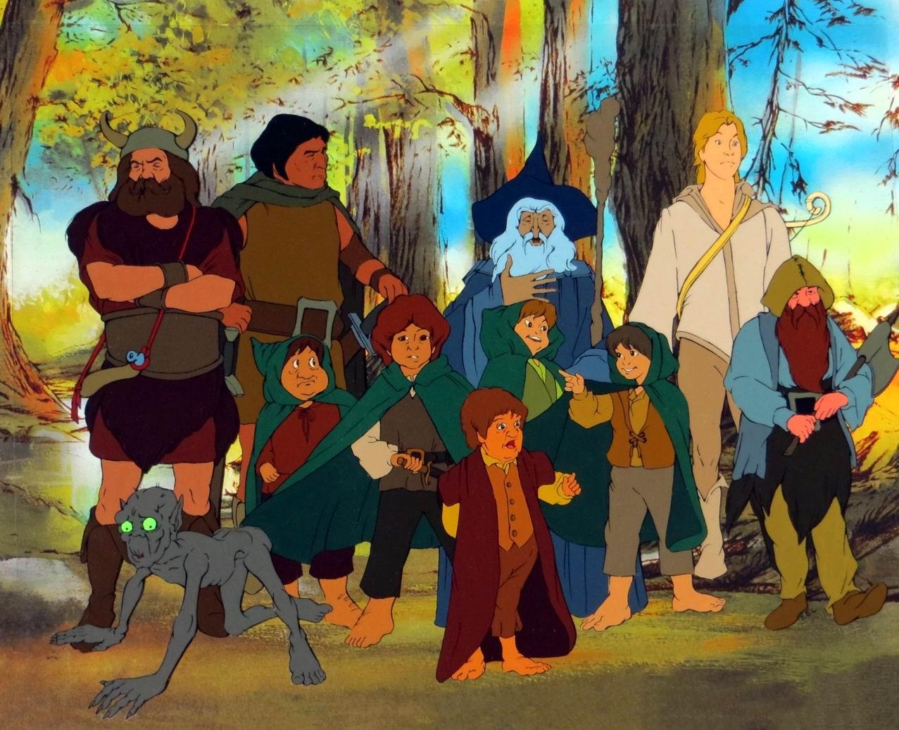 Властелин колец / The Lord of the Rings / El señor de los anillos (1978): кадр из фильма