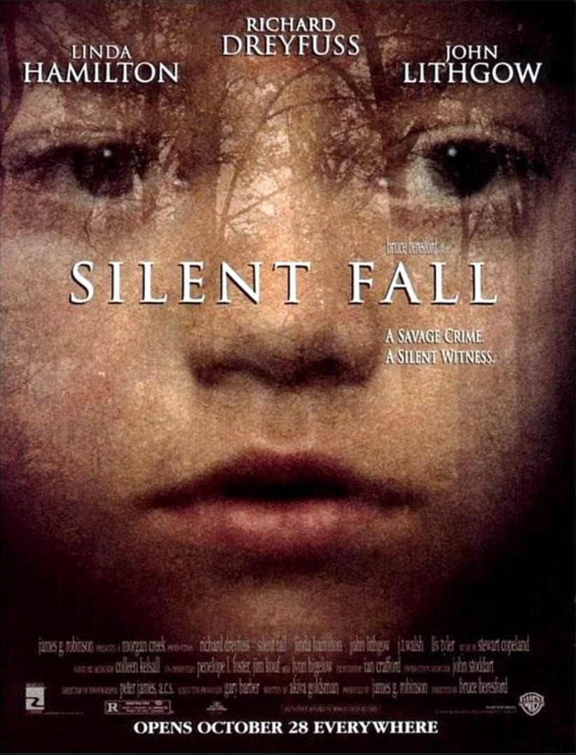 Безмолвная схватка / Silent Fall (1994): постер