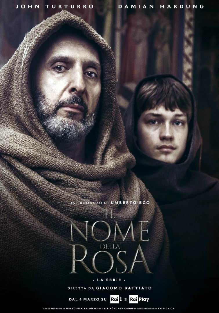 Имя розы / The Name of the Rose / Il Nome della Rosa / Der Name der Rose (2019) (телесериал): постер