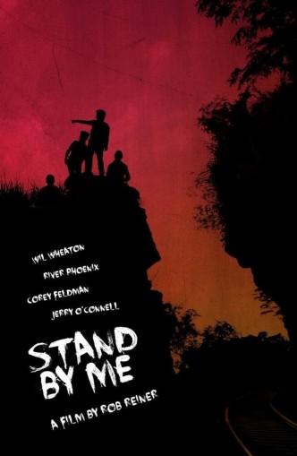 Останься со мной / Stand by Me (1986): постер