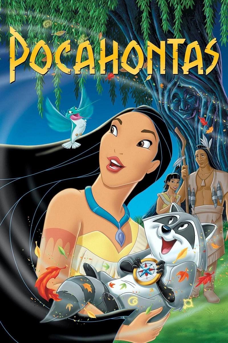Покахонтас / Pocahontas (1995): постер