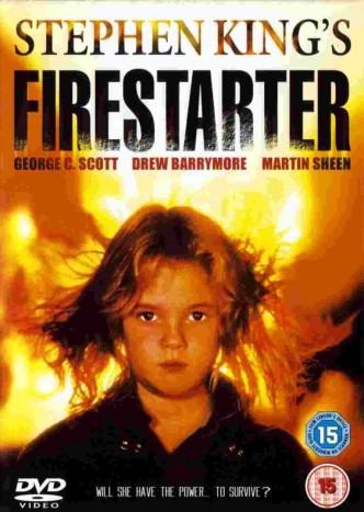Воспламеняющая взглядом / Firestarter (1984): постер