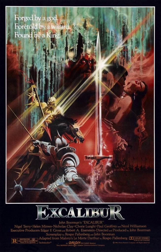 Экскалибур / Excalibur (1981): постер