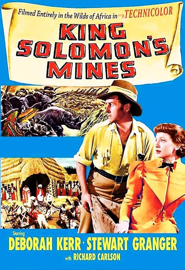 Копи царя Соломона / King Solomon's Mines (1950): постер