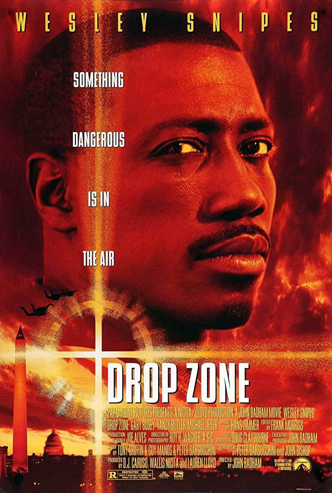 Зона высадки / Drop Zone (1994): постер