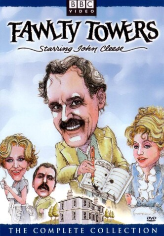 Башни Фолти / Fawlty Towers (1975, 1979) (телесериал): постер