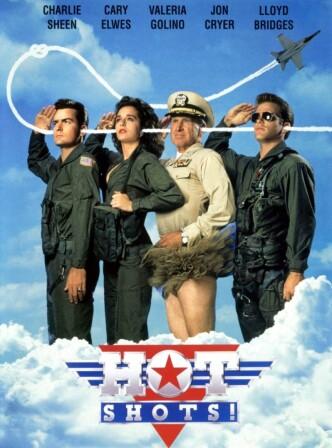 Горячие головы! / Hot Shots! (1991): постер