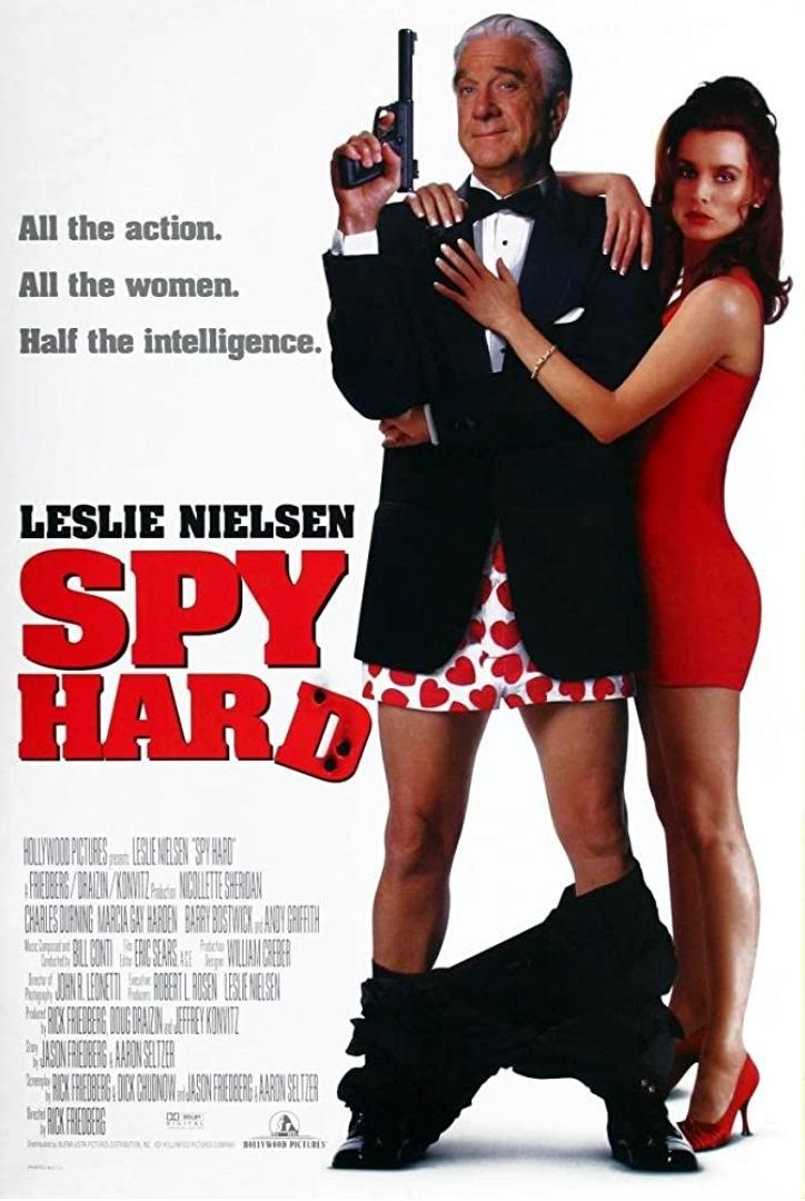 Неистребимый шпион / Spy Hard (1996): постер