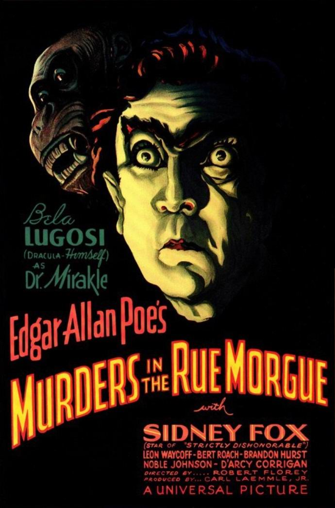 Убийство на улице Морг / Murders in the Rue Morgue (1932): постер