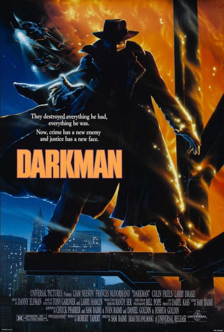 Человек тьмы / Darkman (1990): постер
