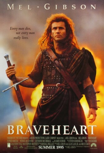 Храброе сердце / Braveheart (1995): постер