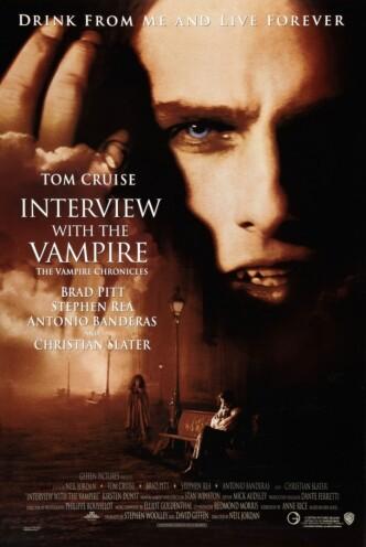 Интервью с вампиром / Interview with the Vampire: The Vampire Chronicles (1994): постер