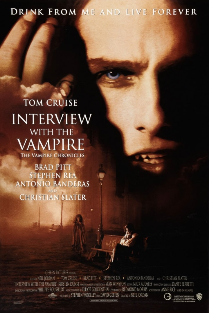 Интервью с вампиром / Interview with the Vampire: The Vampire Chronicles (1994): постер