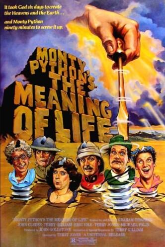 Смысл жизни по Монти Пайтону / The Meaning of Life (1983): постер