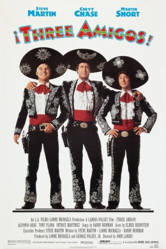 Три амиго / Three Amigos! (1986): постер