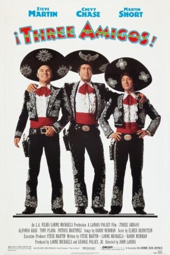 Три амиго / Three Amigos! (1986): постер