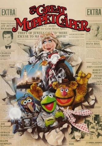Большое ограбление маппетов / The Great Muppet Caper (1981): постер