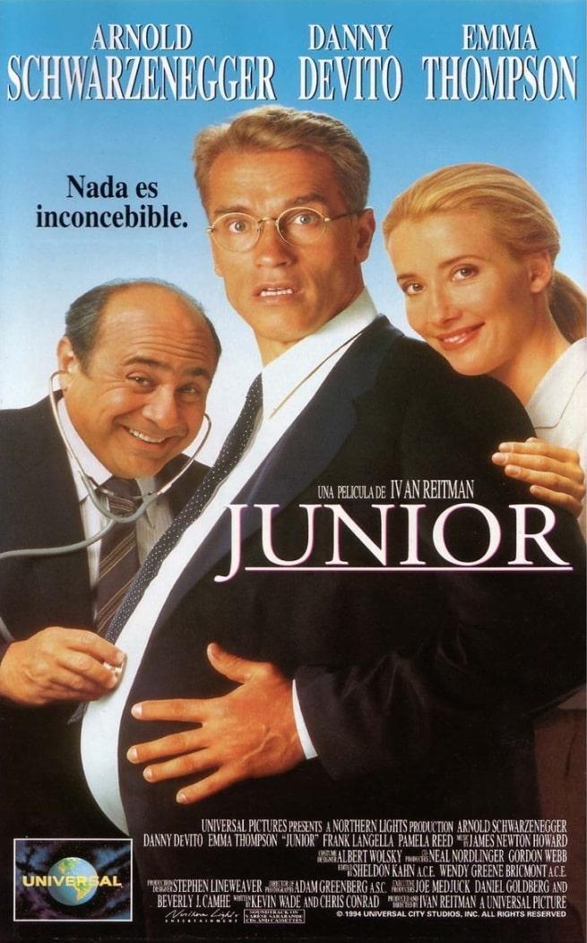 Джуниор / Junior (1994): постер
