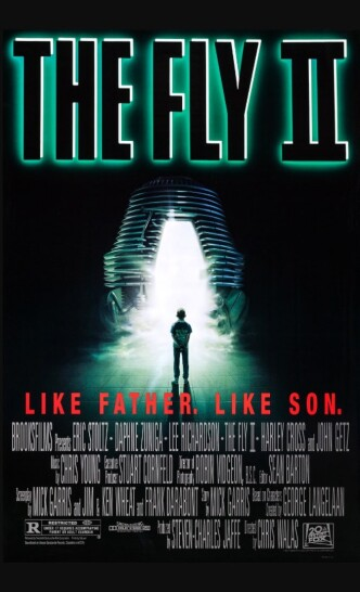 Муха 2 / The Fly II (1989): постер