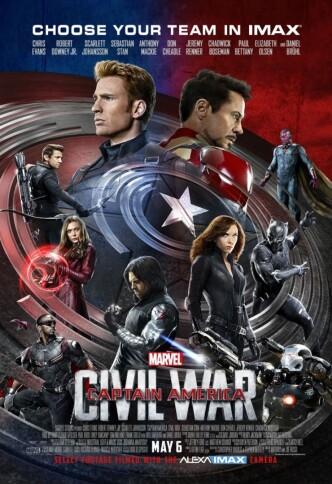Первый мститель: Противостояние / Captain America: Civil War (2016): постер