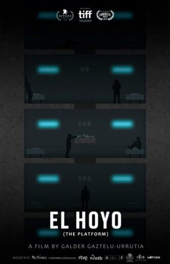 Платформа / El hoyo (2019): постер