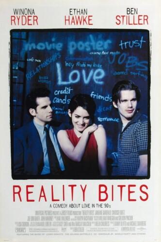 Реальность кусается / Reality Bites (1994): постер