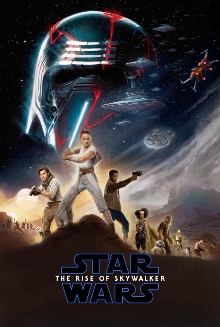 Звёздные войны: Скайуокер. Восход / Star Wars: Episode IX – The Rise of Skywalker (2019): постер