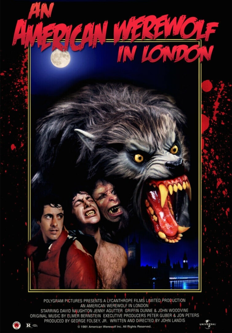 Американский оборотень в Лондоне / An American Werewolf in London (1981): постер
