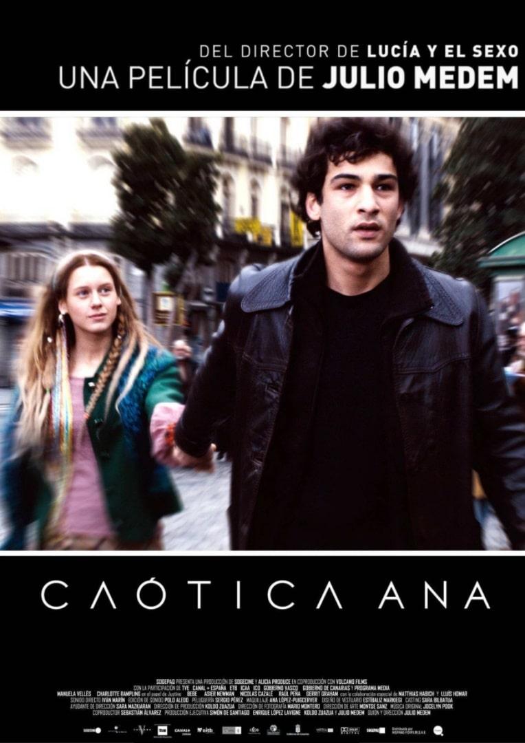 Беспокойная Анна / Caótica Ana (2007): постер