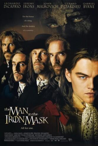 Человек в железной маске / The Man in the Iron Mask (1998): постер