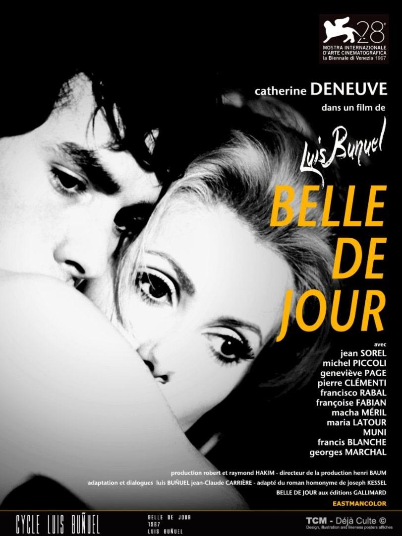 Дневная красавица / Belle de jour / Bella di giorno (1967): постер