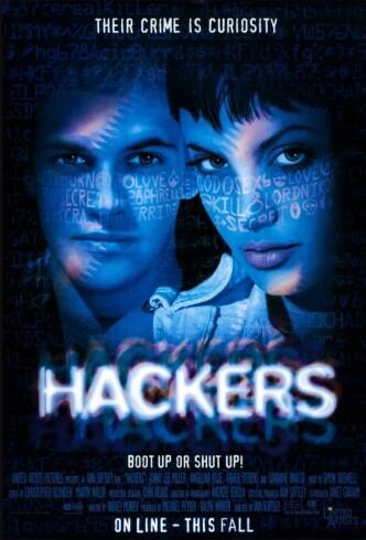 Хакеры / Hackers (1995): постер