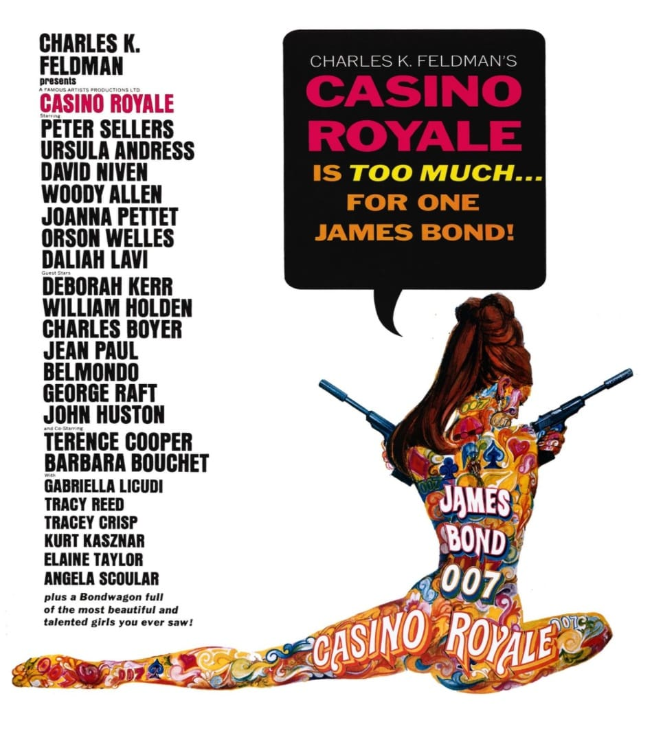 Казино «Рояль» / Casino Royale (1967): постер